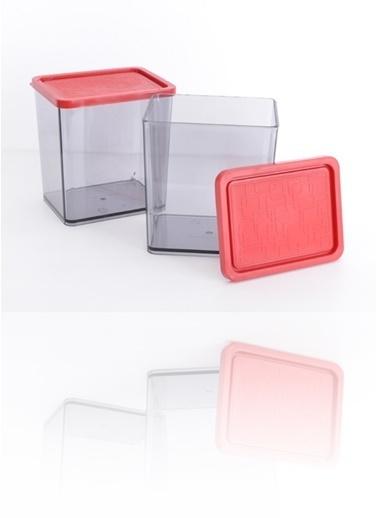 Piaff Home Bonbon Saklama Kabı 2'Li Maxi Set Renkli